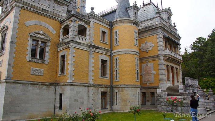 Массандровский дворец, республика Крым