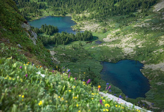 Каракольские озёра, Горный Алтай