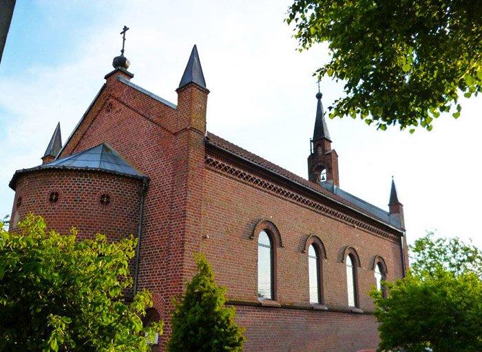 Храм Сергия Радонежского, п. Рыбачий, Калининградская область