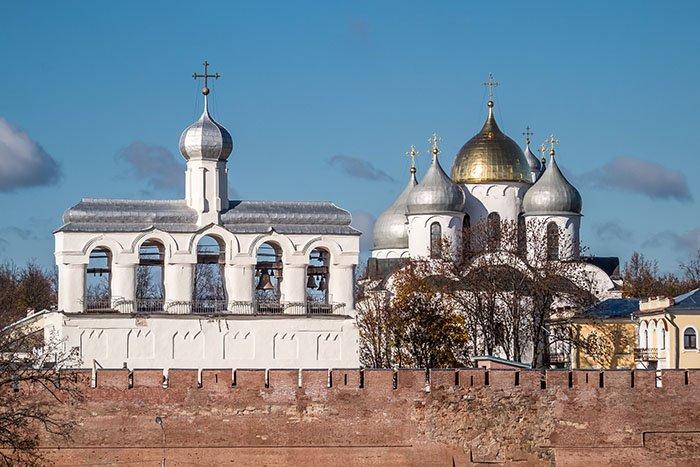 Звонница Софийского собора, Новгородская область