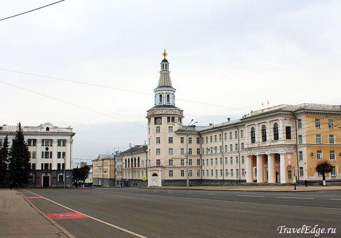 Здание Чувашской государственной сельскохозяйственной академии, Чебоксары