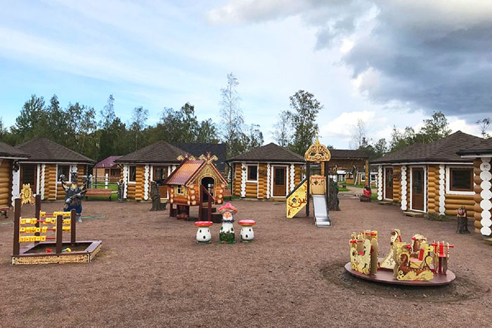 Русская деревня Шуваловка, Ленинградская область