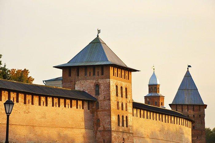 Детинец Новгородский Кремль