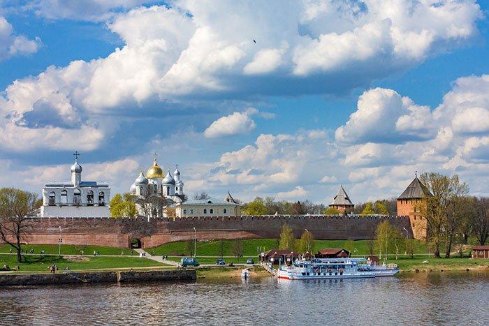Новгородский Кремль - Детинец
