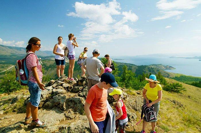 Отдых с детьми на Байкале