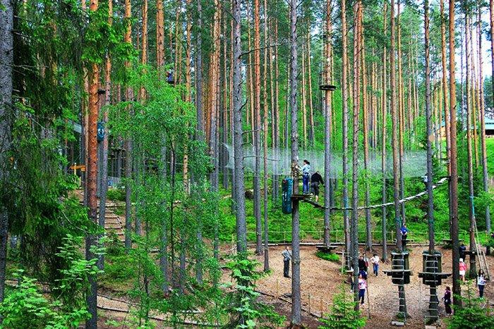 Норвежский парк Орех, Ленинградская область