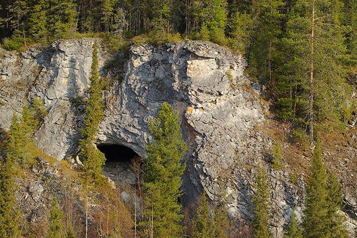Медвежья пещера Печоро-Илычского заповедника, республика Коми