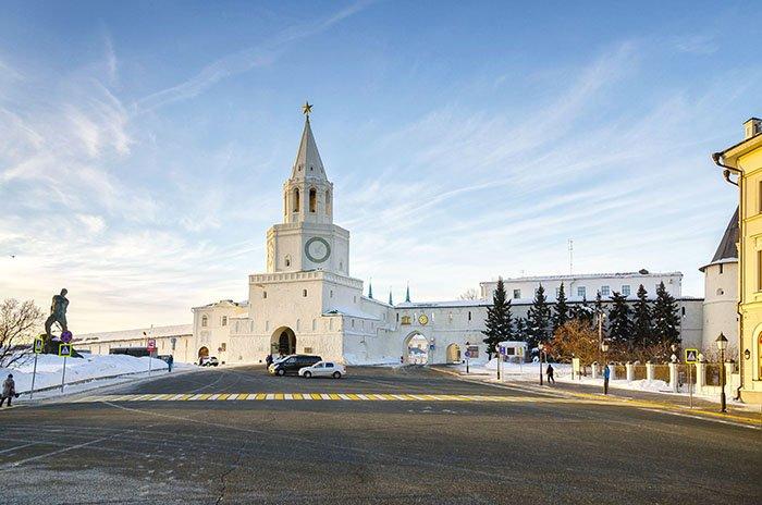 Спасская башня, Казанский кремль, республика Татарстан