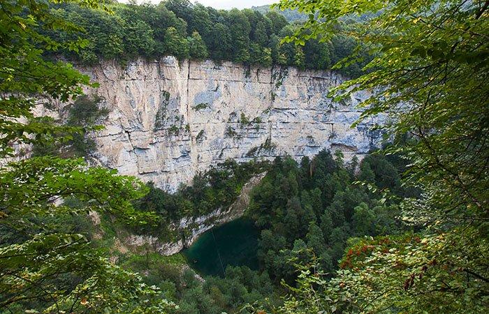 Сухое Голубое озеро, Кабардино-Балкария