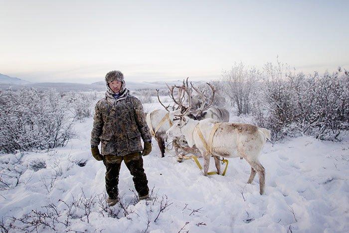 Жизнь в селе Оймякон, Якутия