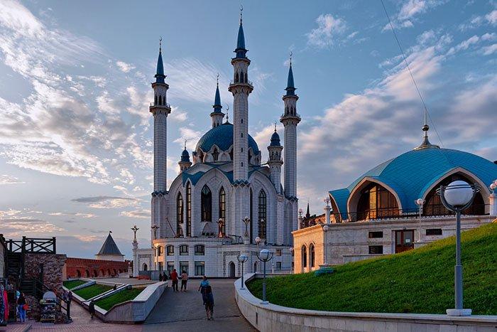 Мечеть Кул-Шариф, Казанский кремль, республика Татарстан