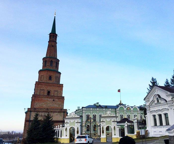 Башня Сююмбике, Казанский кремль, республика Татарстан