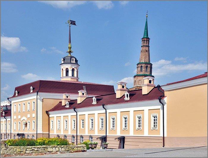 Главный корпус Пушечного двора, Казанский Кремль
