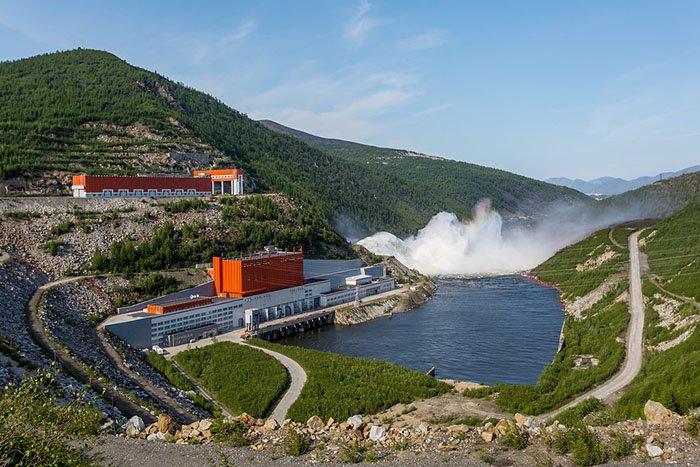 Колымская ГЭС, Магаданская область