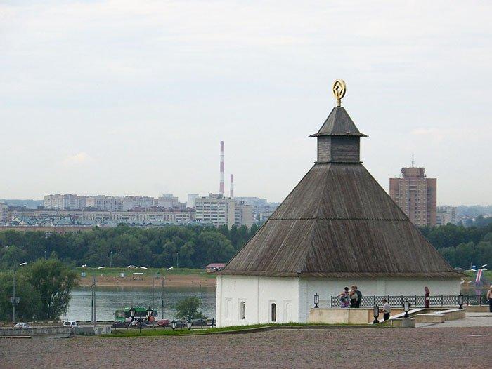 Тайницкая башня, Казанский кремль, республика Татарстан