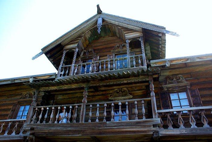 Дом крестьянина Ошевнева, Кижи, Карелия