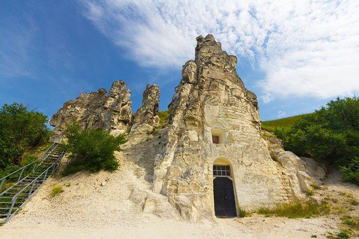 Церковь Сицилийской иконы Божьей Матери, плато Дивногорье, Воронежская область