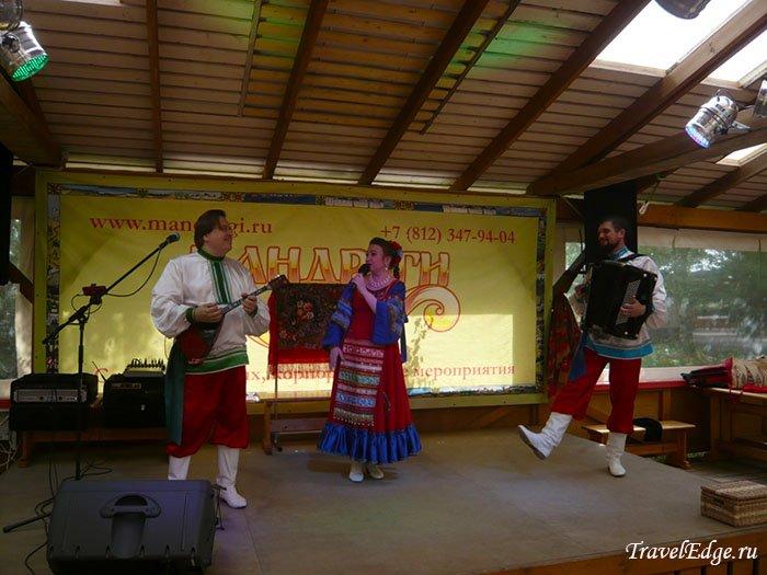 Концерт, Деревня Мандроги, Ленинградская область