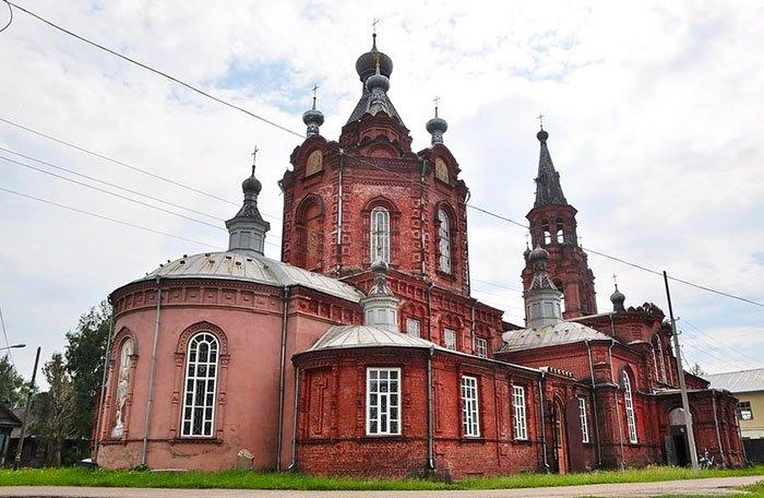 Вознесенский храм, Селигер