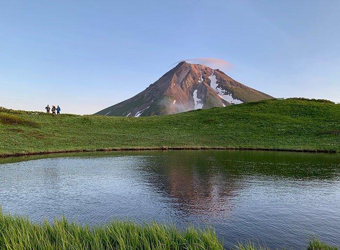 Озеро Чёрное, Остров Онекотан, Сахалинская область