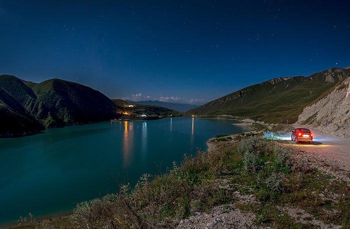 Озеро Кезеной-Ам, республика Дагестан, Чеченская республика
