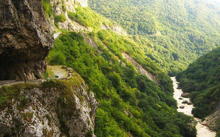 Теснина Черекского ущелья, Кабардино-Балкария