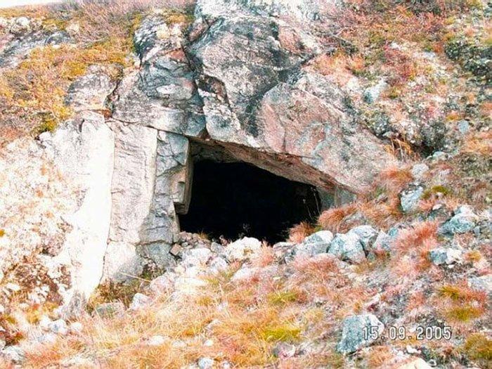 Подземный лаз, Сейдозеро, Мурманская область