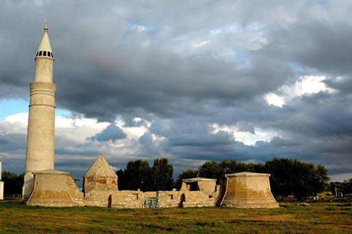 Большой минарет, Музей-заповедник Болгар, республика Татарстан