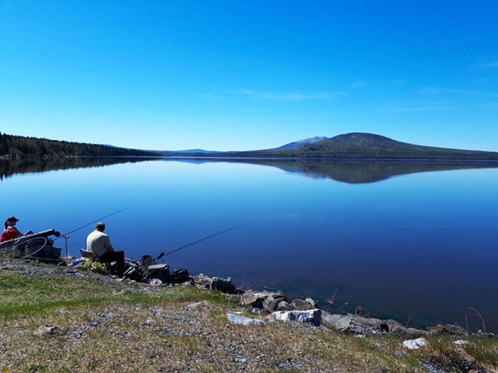 Рыбалка на озере Зюраткуль, Челябинская область