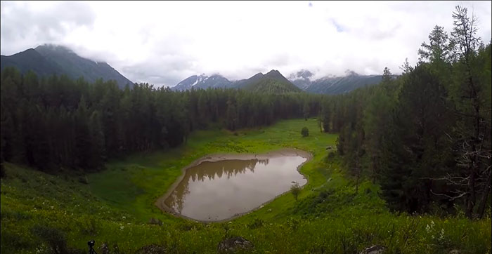 Мультинское озеро, Горный Алтай