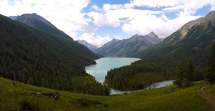 Кучерлинское озеро, Горный Алтай