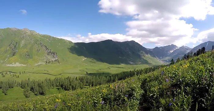 Долина Тихая, Горный Алтай