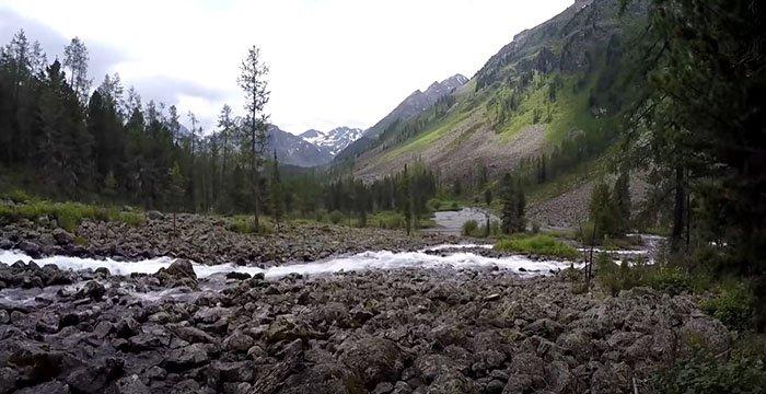 Река Иолдо, Горный Алтай