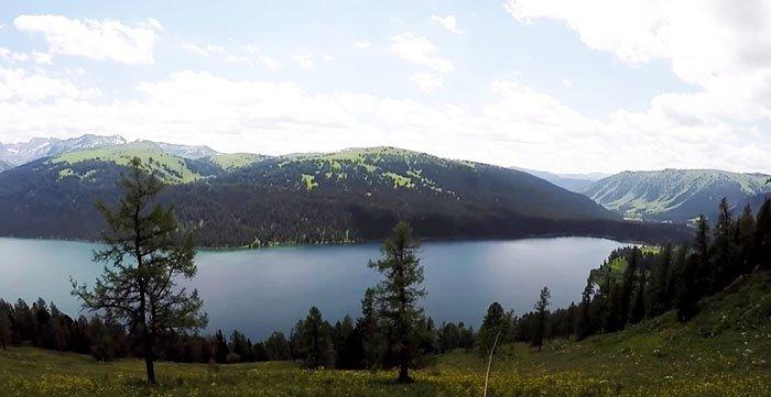 Озеро Тальменье, Горный Алтай