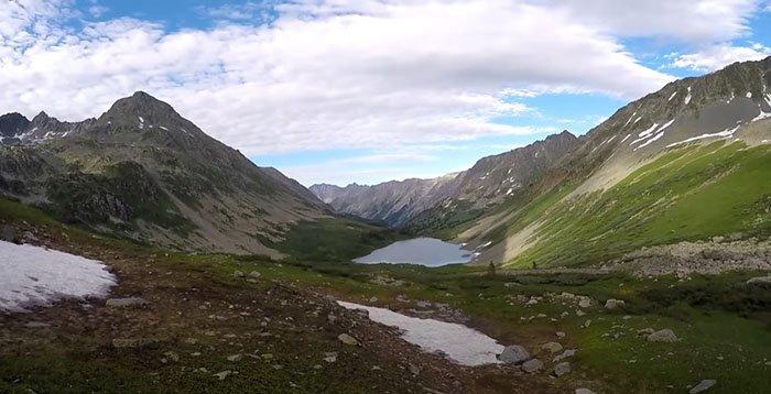 Озеро Изумрудное, Горный Алтай