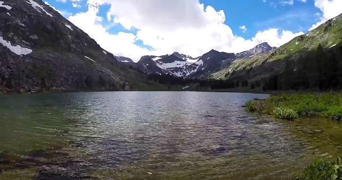 Озеро Крепкое, Горный Алтай