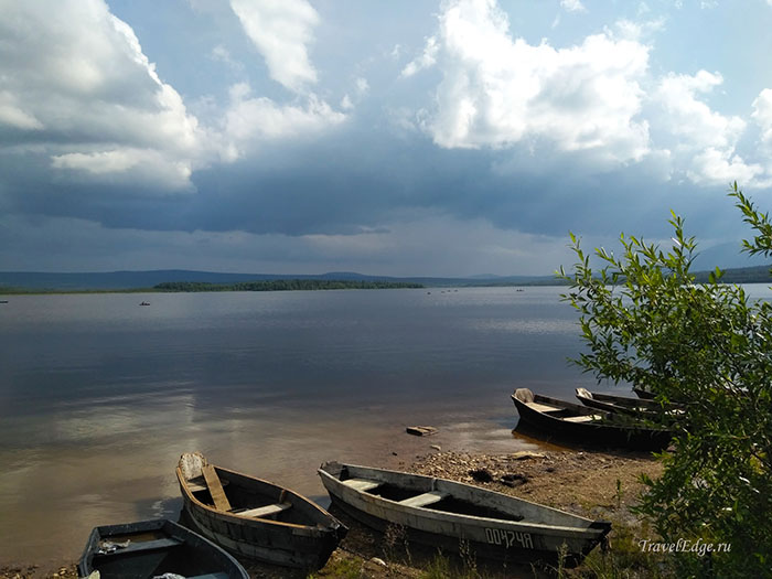 Отдых на озере Зюраткуль, Челябинская область