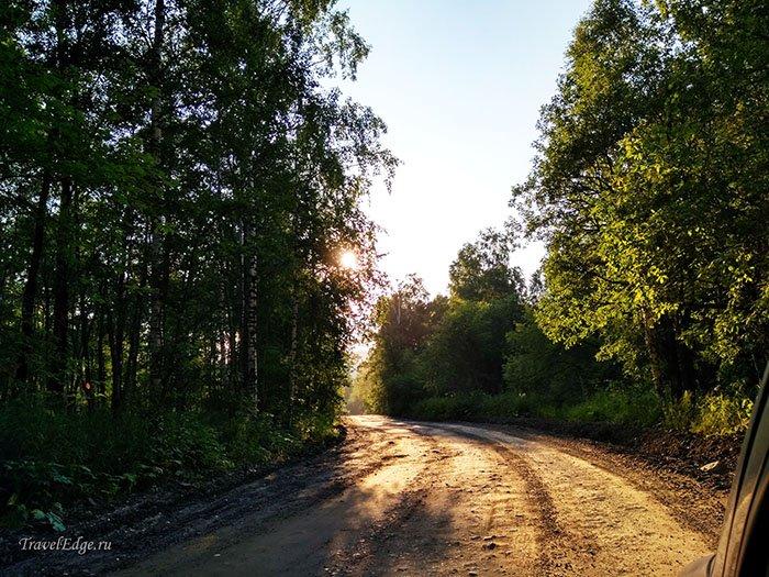 Дорога к озеру Зюраткуль
