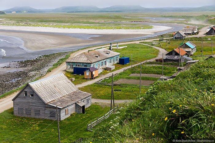 Посёлок Никольское, Командорские острова, Камчатский край