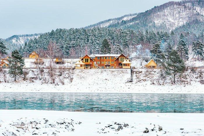 Алтай. Зима