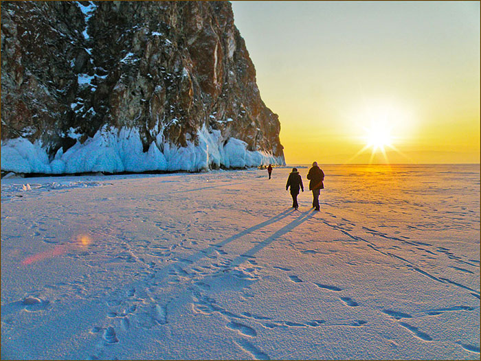 Байкал. Зима