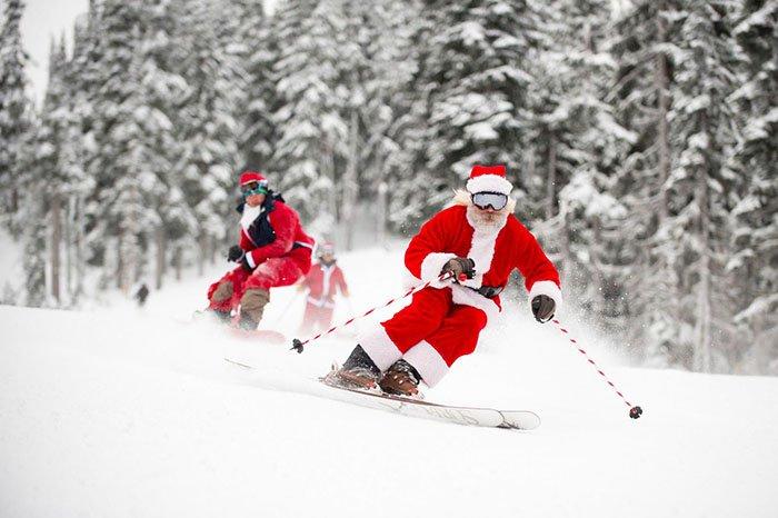 Новый год на горнолыжных курортах