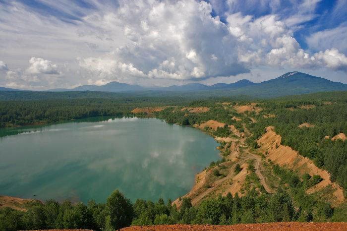 Карьерный пруд Карелка, Челябинская область