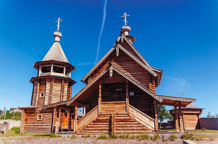 Дом воеводы, Обдорский острог, Ямало-Ненецкий АО