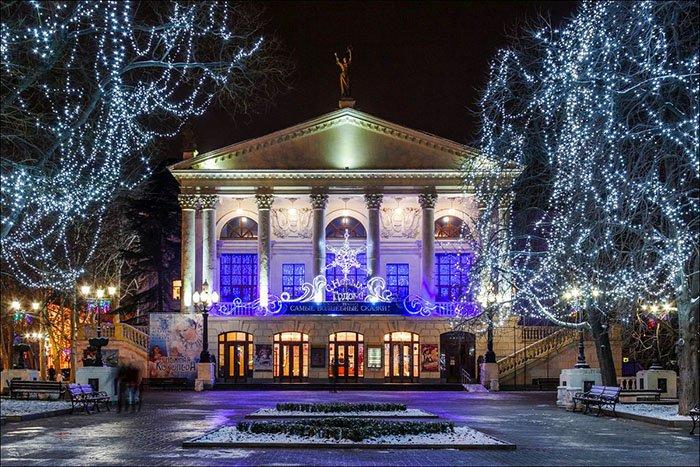 Севастополь, Новый год