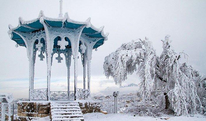 Кавказские Минеральные Воды. Зима