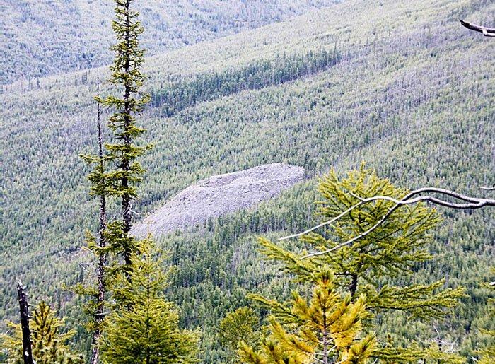 Патомский кратер, Иркутская область