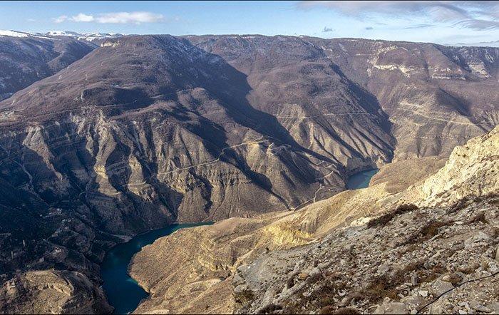 Сулакский каньон, республика Дагестан
