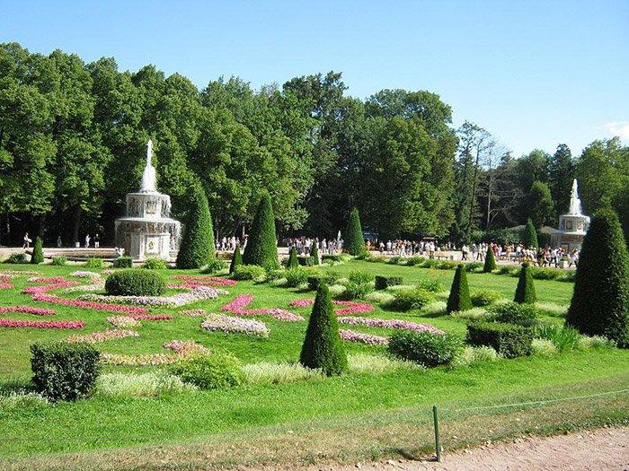 Нижний парк, Петергоф