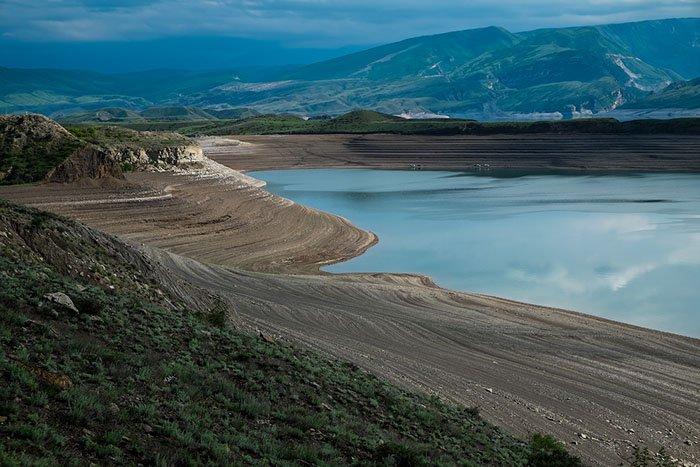 Чиркейское водохранилище, республика Дагестан